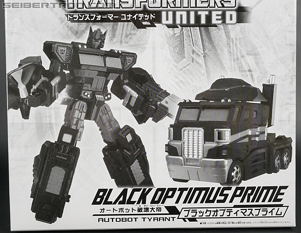 Transformers United Black Optimus Prime (Image #3 of 183)