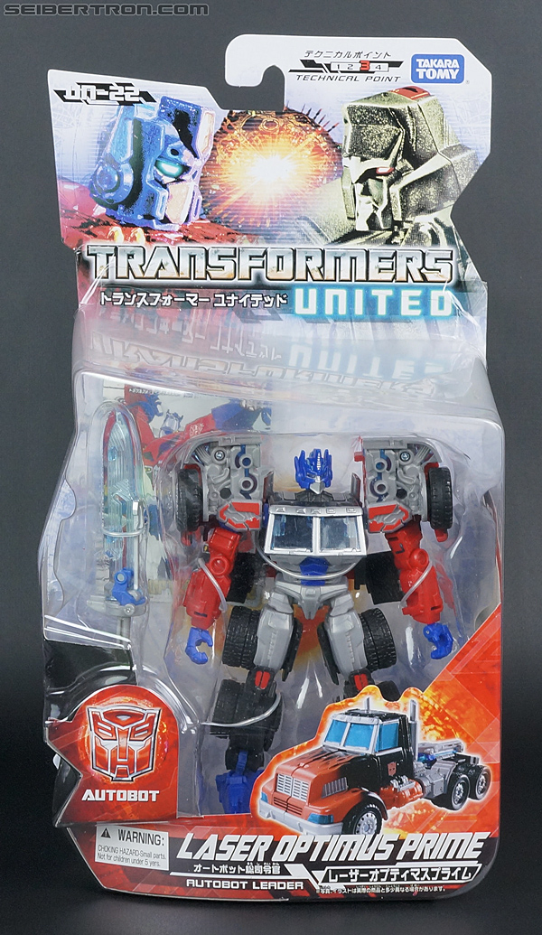 Transformers United Laser Optimus Prime (Image #1 of 133)