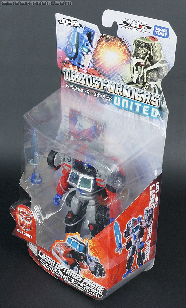 Transformers United Laser Optimus Prime (Image #16 of 133)