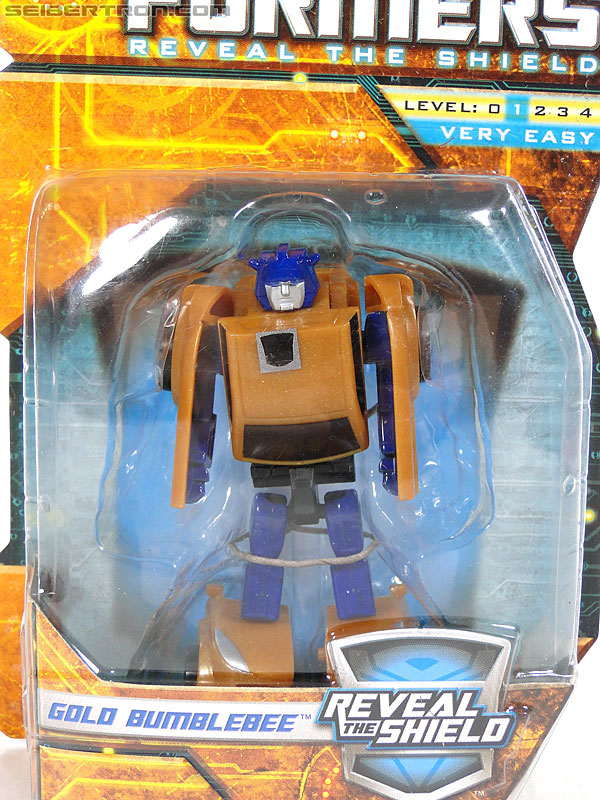 Transformers Reveal The Shield Gold Bumblebee (Image #2 of 100)