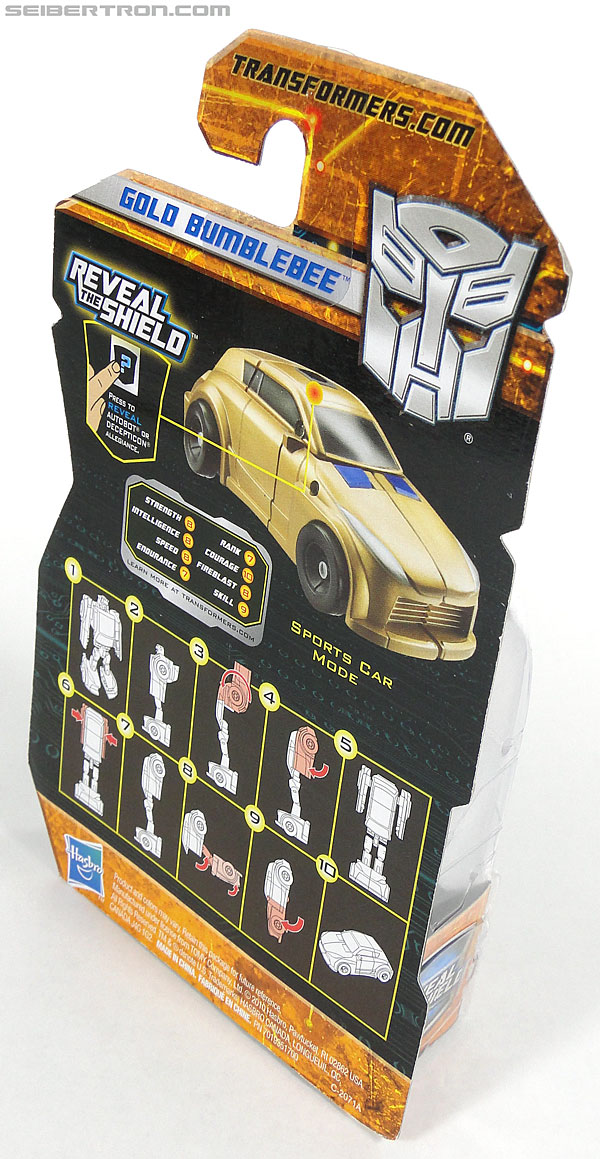 Transformers Reveal The Shield Gold Bumblebee (Image #4 of 100)