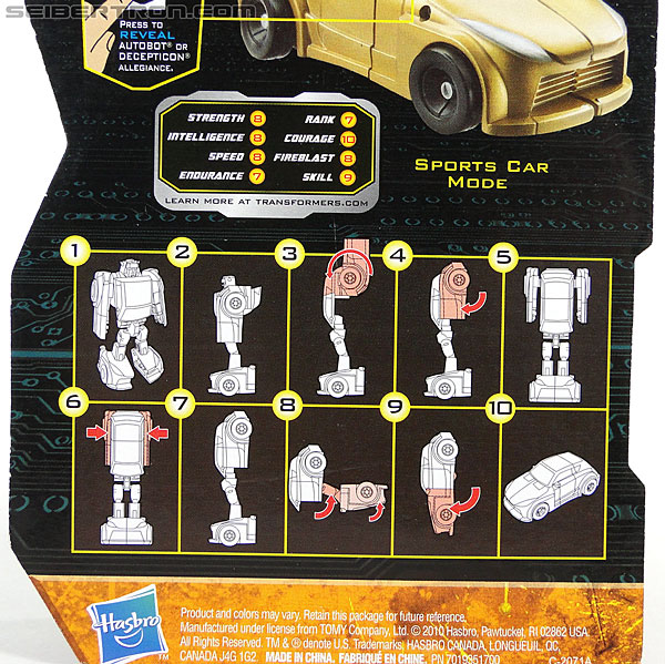 Transformers Reveal The Shield Gold Bumblebee (Image #6 of 100)