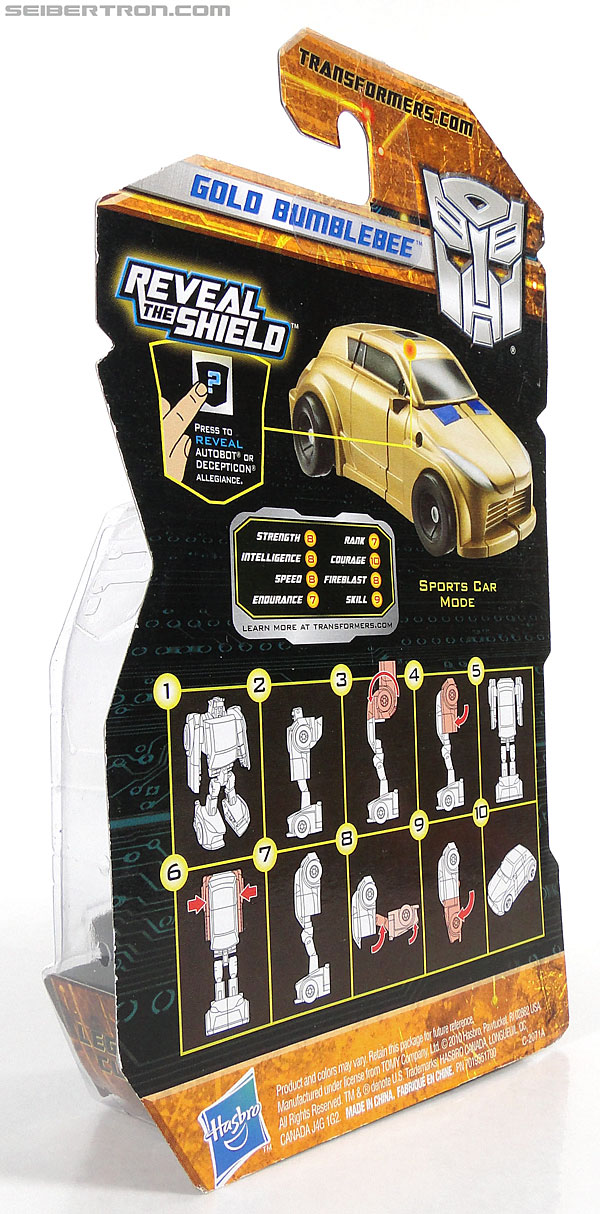 Transformers Reveal The Shield Gold Bumblebee (Image #7 of 100)