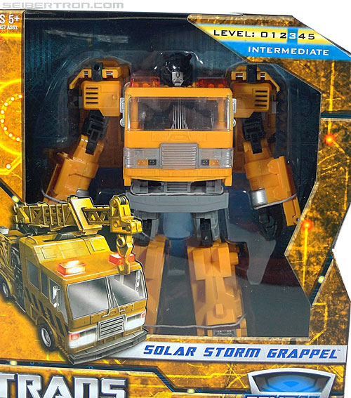 Transformers Reveal The Shield Solar Storm Grappel (Grapple) (Image #2 of 149)