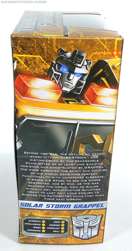 Transformers Reveal The Shield Solar Storm Grappel (Grapple) (Image #4 of 149)