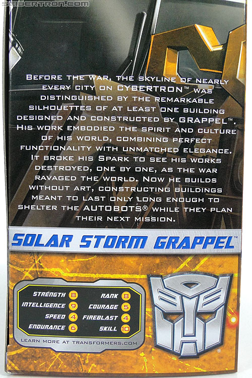 Transformers Reveal The Shield Solar Storm Grappel (Grapple) (Image #7 of 149)