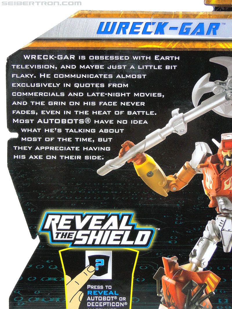 Transformers Reveal The Shield Wreck-Gar (Image #8 of 134)