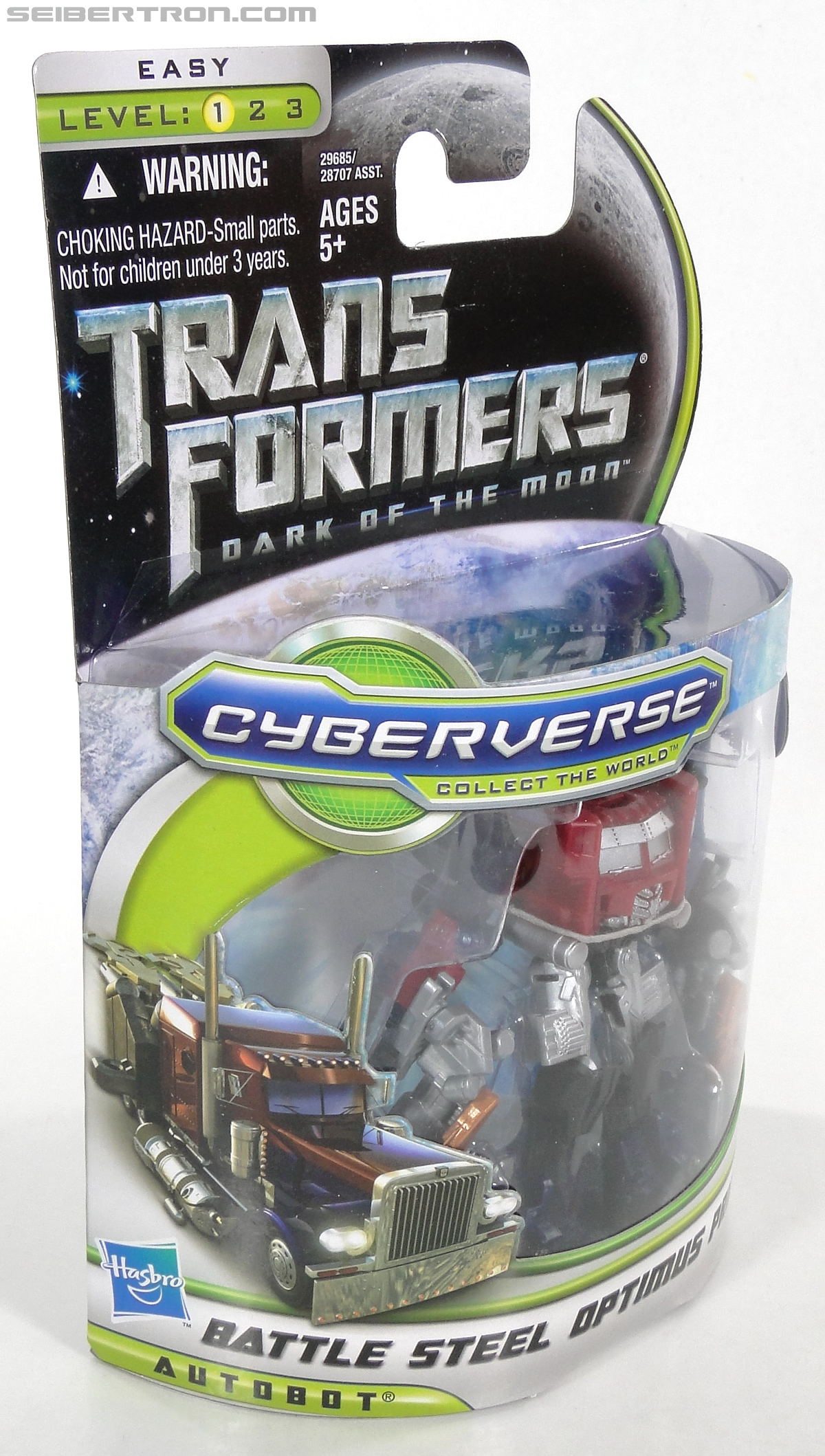 Transformers Dark of the Moon Battle Steel Optimus Prime (Image #6 of 100)
