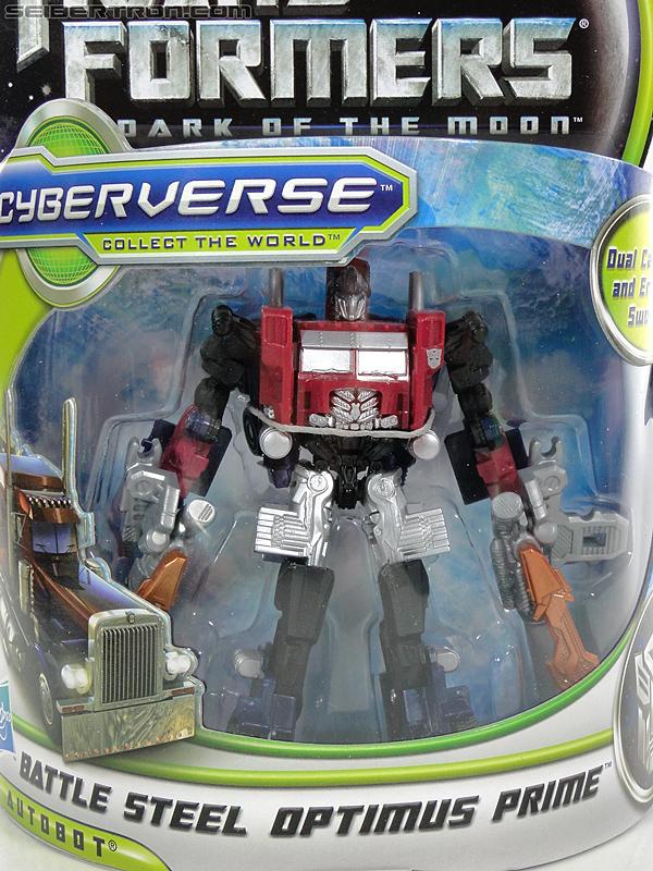 Transformers Dark of the Moon Battle Steel Optimus Prime (Image #4 of 100)