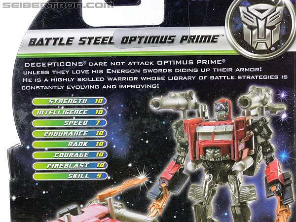 Transformers Dark of the Moon Battle Steel Optimus Prime (Image #9 of 100)