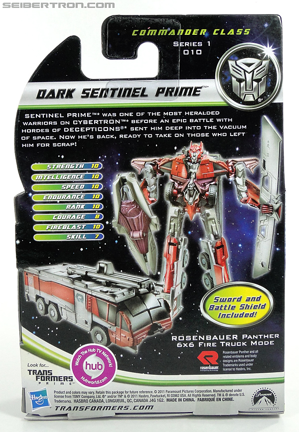 Transformers Dark of the Moon Dark Sentinel Prime (Image #6 of 93)