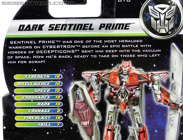 Transformers Dark of the Moon Dark Sentinel Prime (Image #7 of 93)
