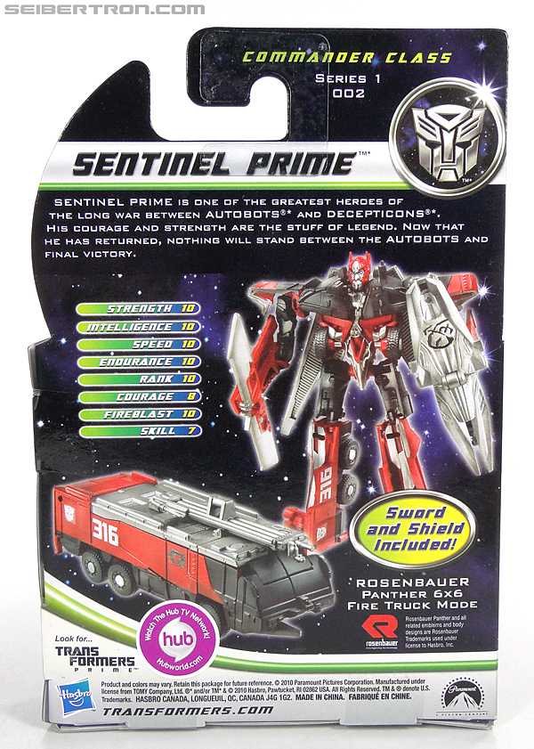 Transformers Dark of the Moon Sentinel Prime (Image #5 of 91)