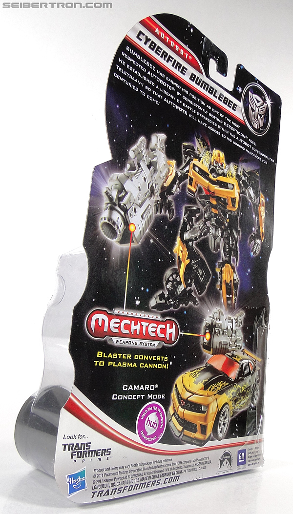 Transformers Dark of the Moon Cyberfire Bumblebee (Bumblebee) (Image #10 of 138)