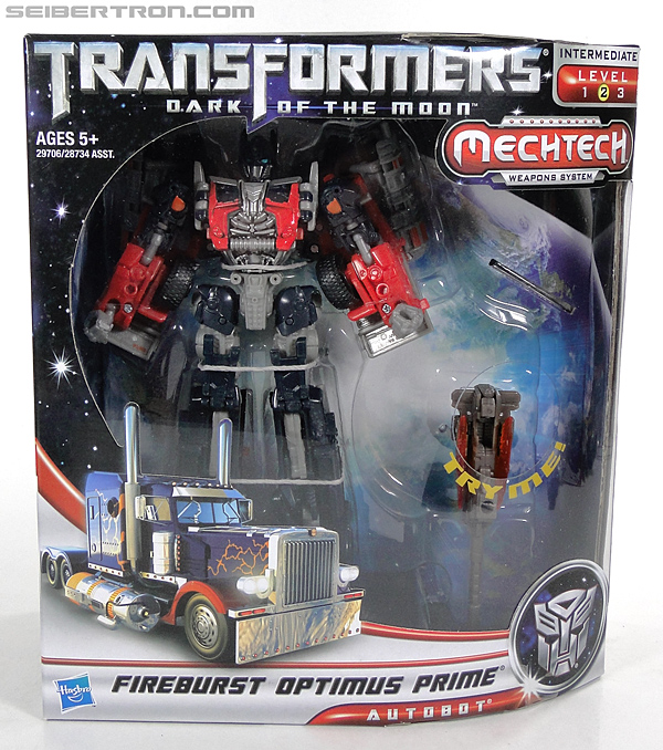 Transformers Dark of the Moon Fireburst Optimus Prime (Image #1 of 116)