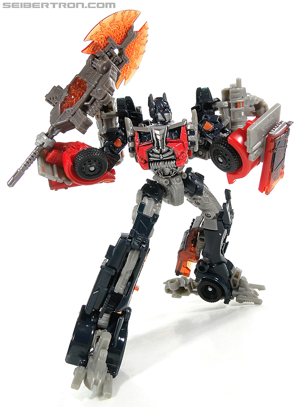 Transformers Movie 3   Flame Axe Voyager class Optimus Prime brand new