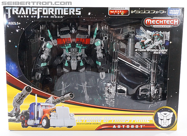 Transformers Dark of the Moon Jetwing Optimus Prime (Black Version) (Image #1 of 279)
