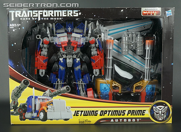 Transformers Dark Of The Moon Jetwing Optimus Prime Toy