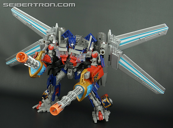 Re: New Toy Galleries: DOTM Jetwing Optimus Prime Standard and Black Versions