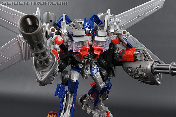 New Toy Galleries: DOTM Jetwing Optimus Prime Standard and ...