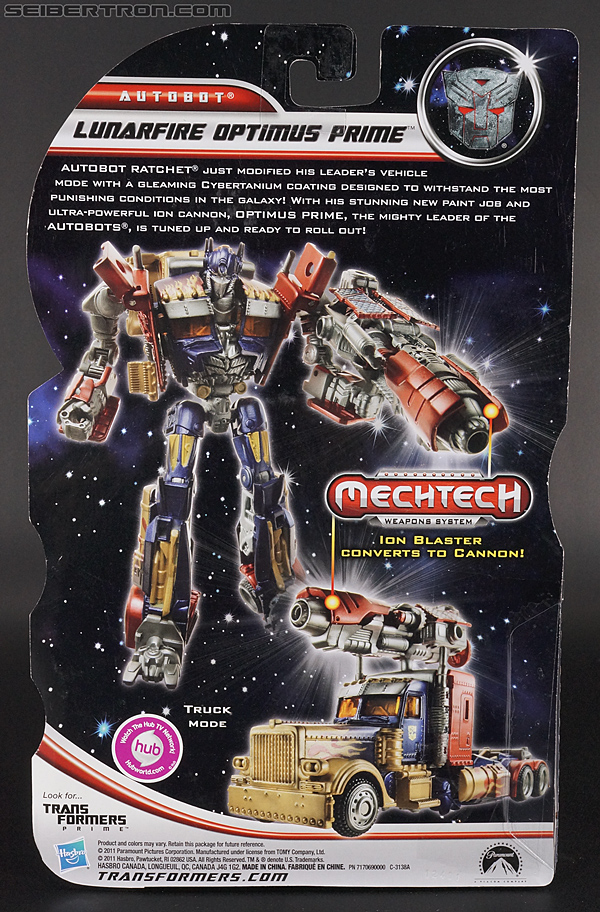 Transformers Dark of the Moon Lunarfire Optimus Prime (Image #9 of 154)