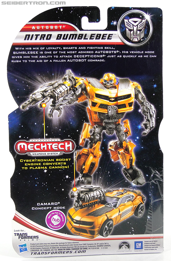 Transformers Dark of the Moon Nitro Bumblebee (Image #8 of 149)
