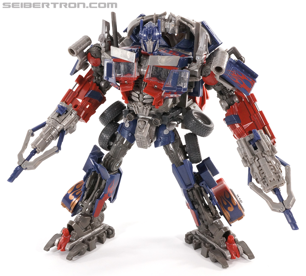 transformers dark of the moon striker optimus prime toy gallery