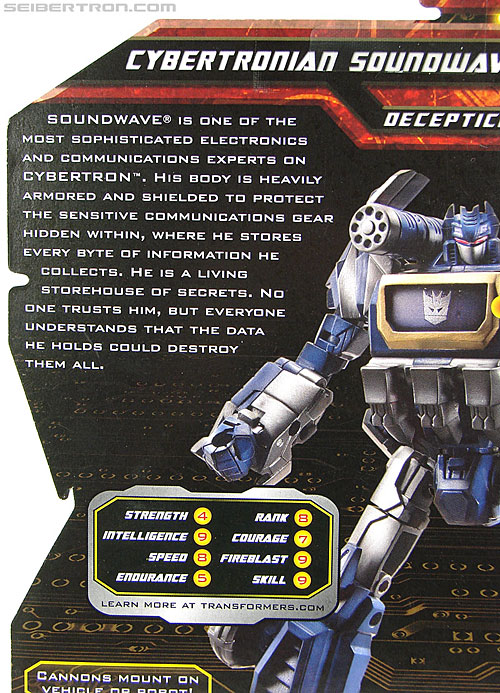 Transformers War For Cybertron Cybertronian Soundwave (Image #8 of 163)