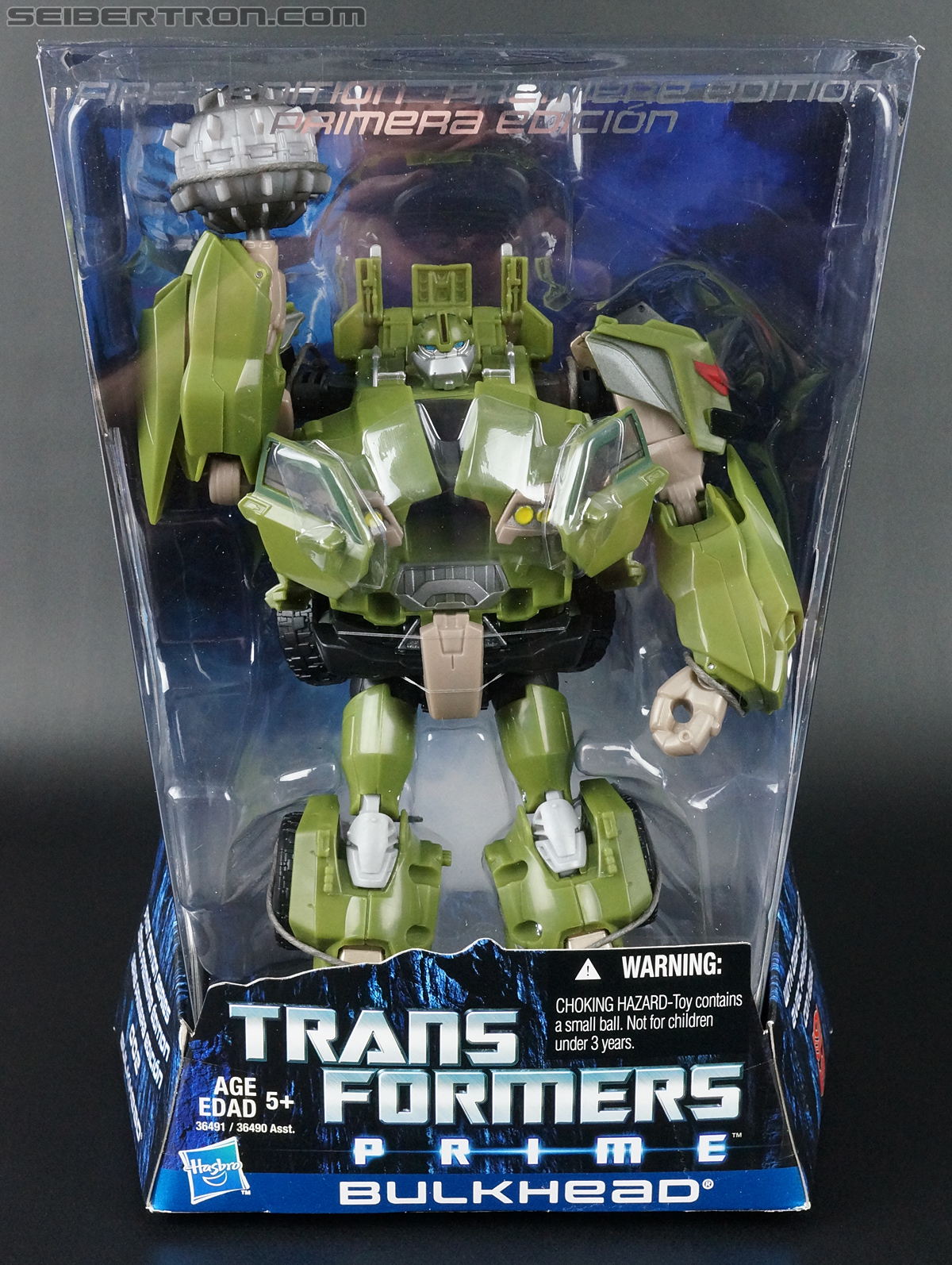 Transformers Prime: First Edition Bulkhead (Image #1 of 173)