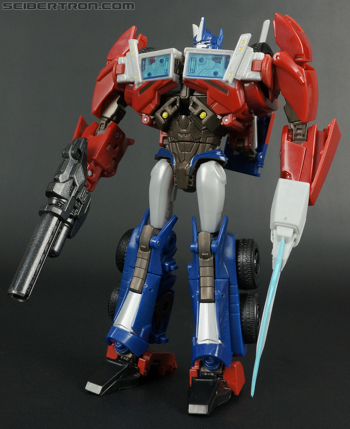 Transformers Prime: First Edition Optimus Prime Toy ...