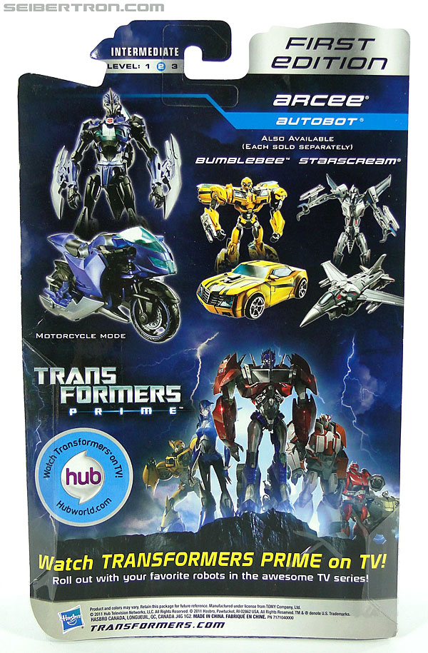 Transformers Prime: First Edition Arcee (Image #9 of 129)