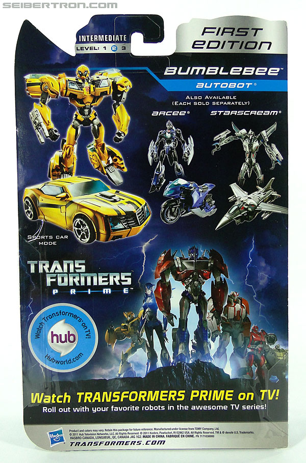 Transformers Prime: First Edition Bumblebee (Image #9 of 130)