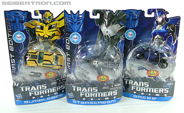 Transformers Prime: First Edition Bumblebee (Image #17 of 130)