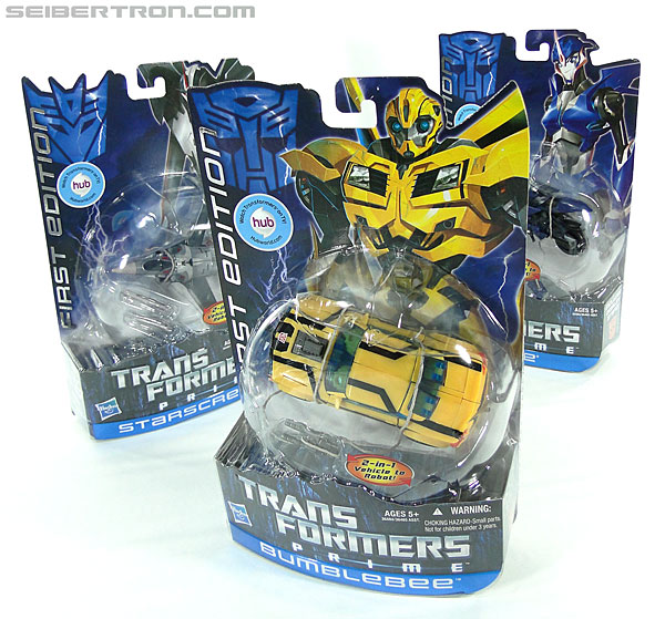 Transformers Prime: First Edition Bumblebee (Image #18 of 130)