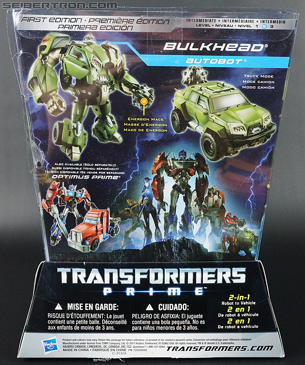Transformers Prime: First Edition Bulkhead (Image #8 of 173)