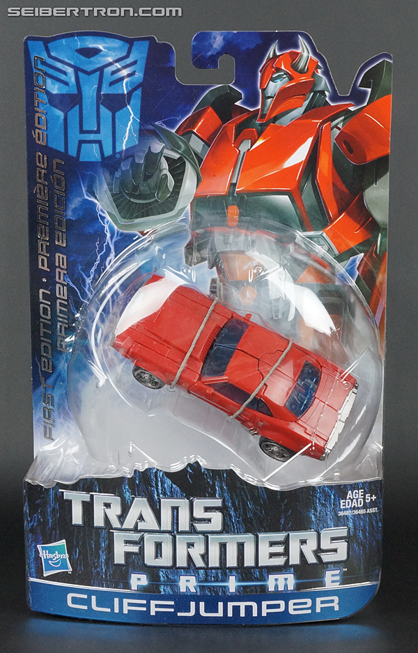 Transformers Prime: First Edition Cliffjumper (Image #1 of 164)