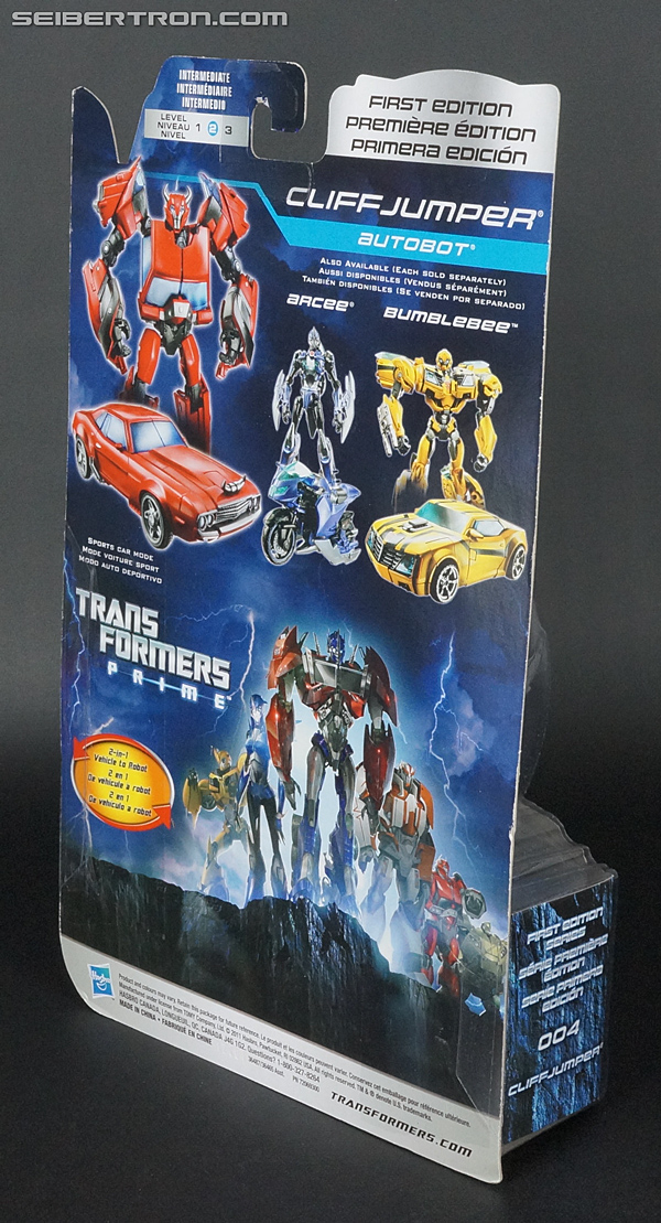 Transformers Prime: First Edition Cliffjumper (Image #6 of 164)
