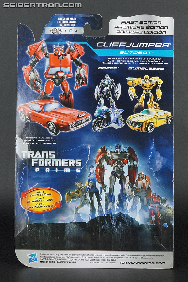 Transformers Prime: First Edition Cliffjumper (Image #7 of 164)