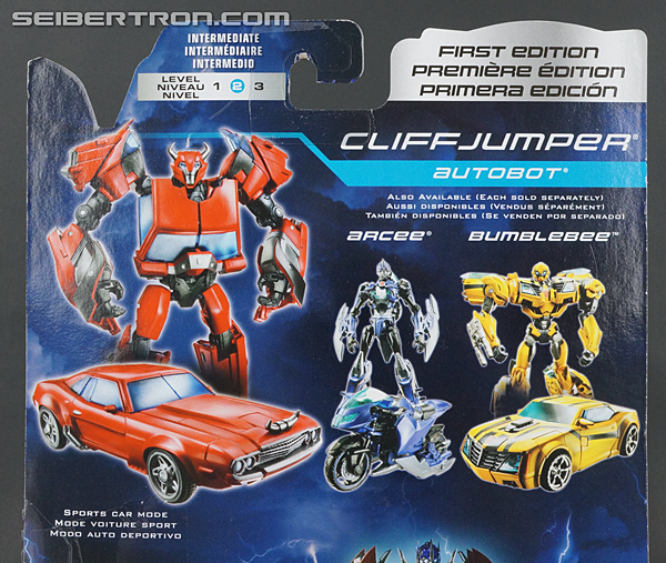 Transformers Prime: First Edition Cliffjumper (Image #9 of 164)