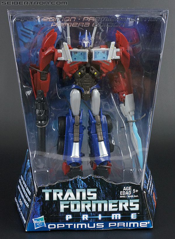 Transformers Prime: First Edition Optimus Prime (Image #1 of 175)