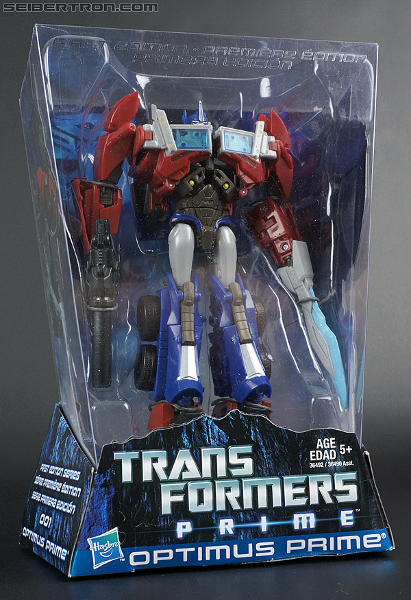 Transformers Prime: First Edition Optimus Prime (Image #3 of 175)