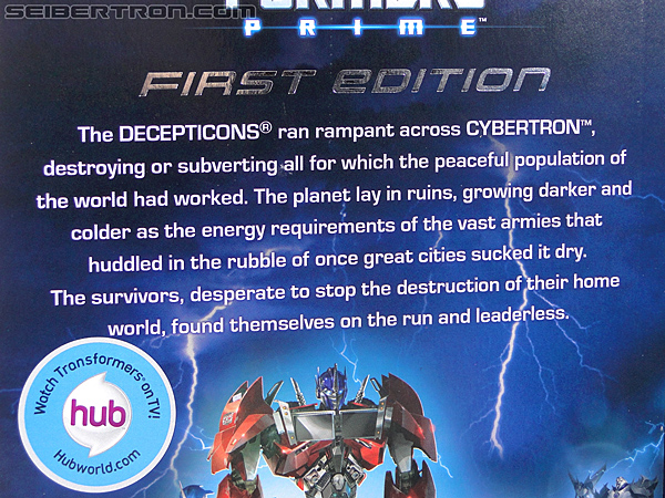 Transformers Prime: First Edition Optimus Prime (Image #29 of 170)
