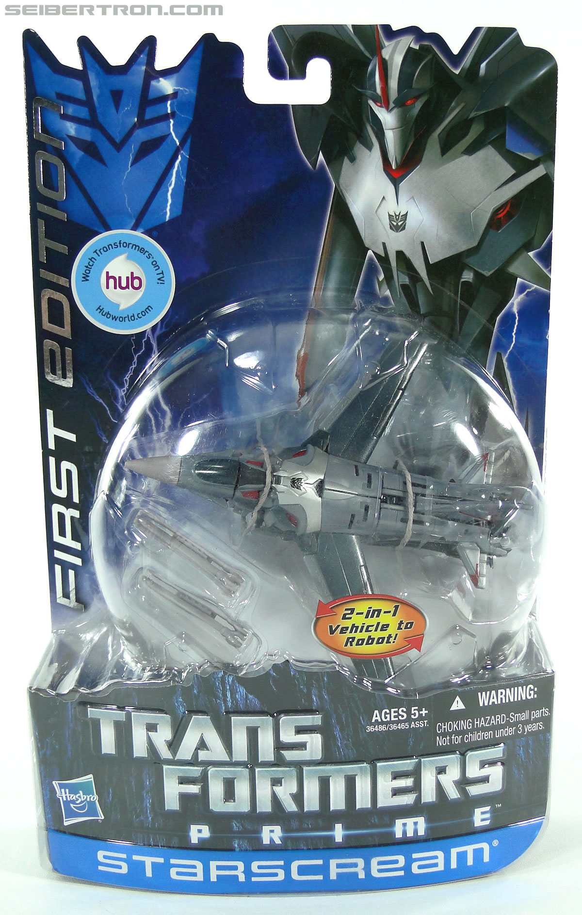 Transformers Prime: First Edition Starscream (Image #1 of 136)