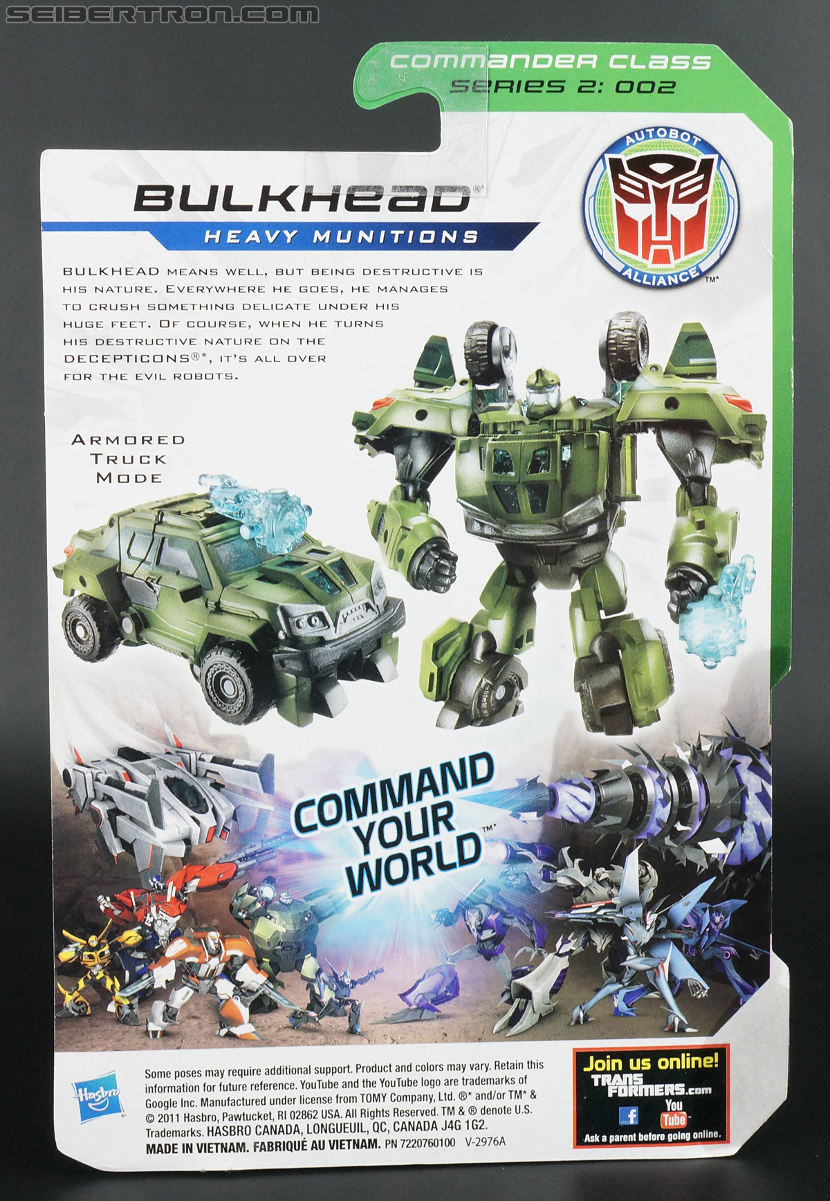 Transformers Prime: Cyberverse Bulkhead (Image #19 of 150)