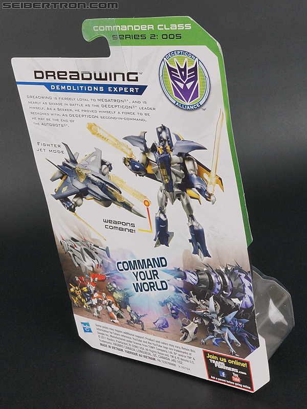 Transformers Prime: Cyberverse Dreadwing (Image #5 of 129)
