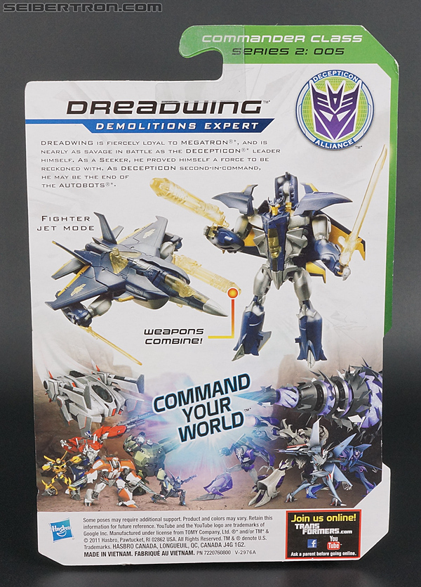 Transformers Prime: Cyberverse Dreadwing (Image #6 of 129)