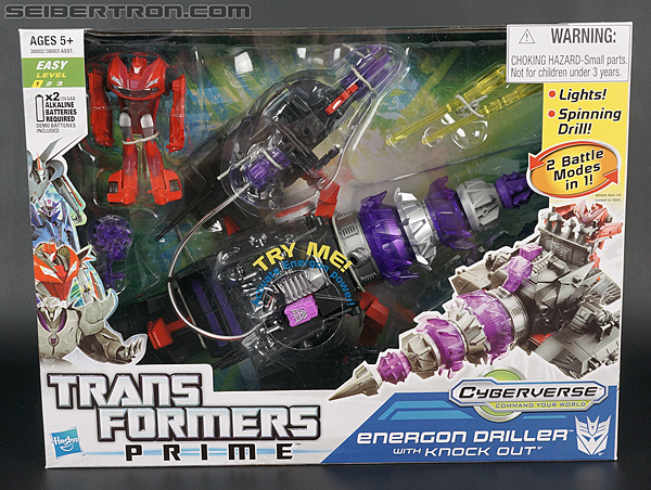 Transformers Prime: Cyberverse Energon Driller (Image #1 of 108)