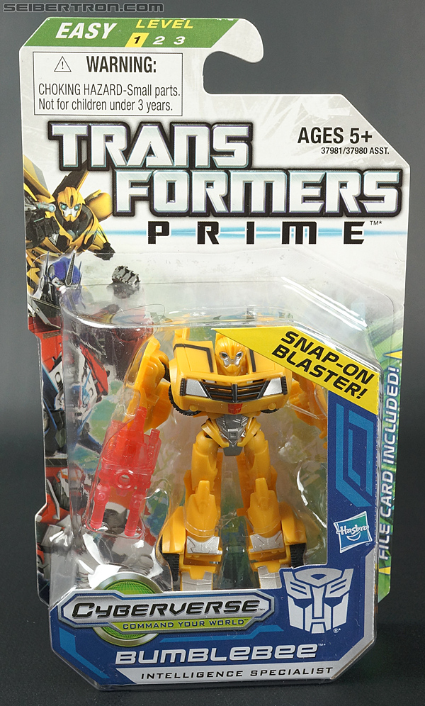 Transformers Prime: Cyberverse Bumblebee (Image #1 of 110)