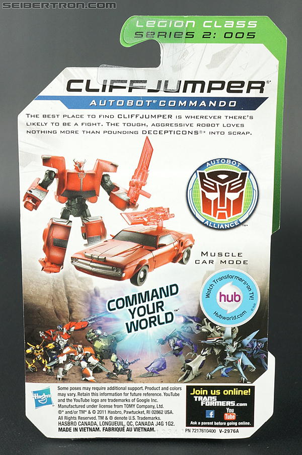 Transformers Prime: Cyberverse Cliffjumper (Image #5 of 124)