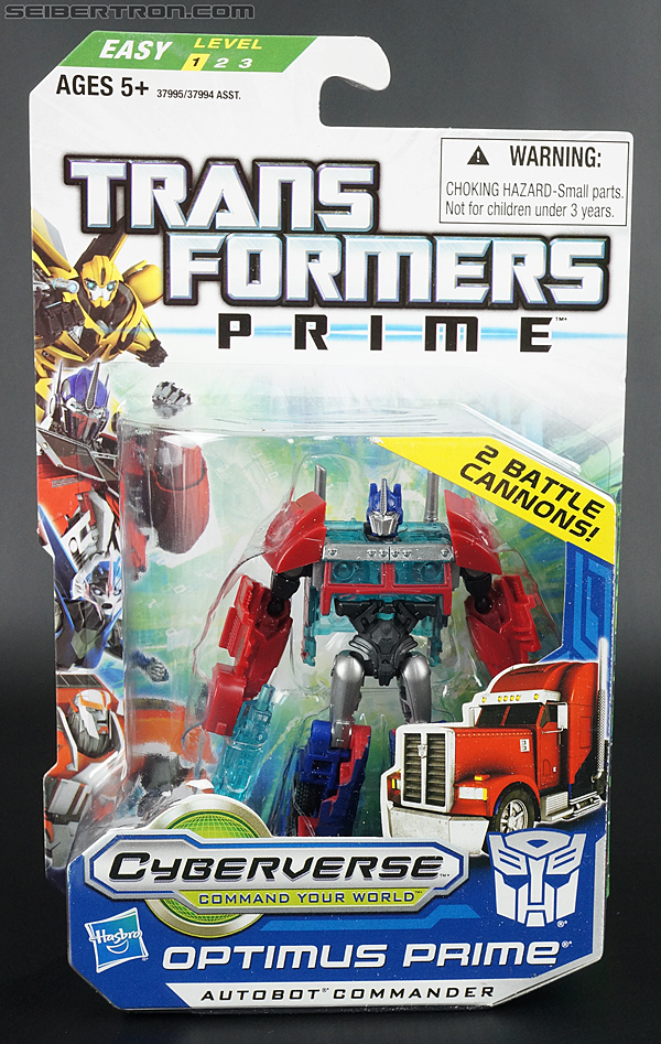 Transformers Prime: Cyberverse Optimus Prime (Image #1 of 162)